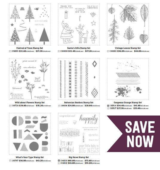 Narelle Fasulo - Independent Stampin' Up! Demonstrator - 20% off Sale