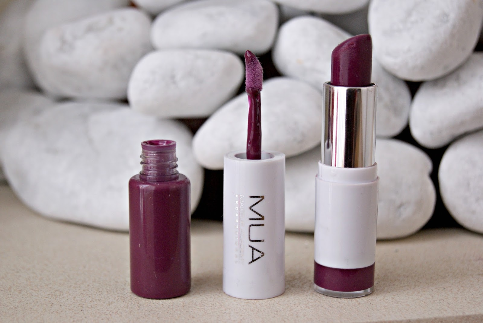 mua lipstick review superdrug boots persian plum