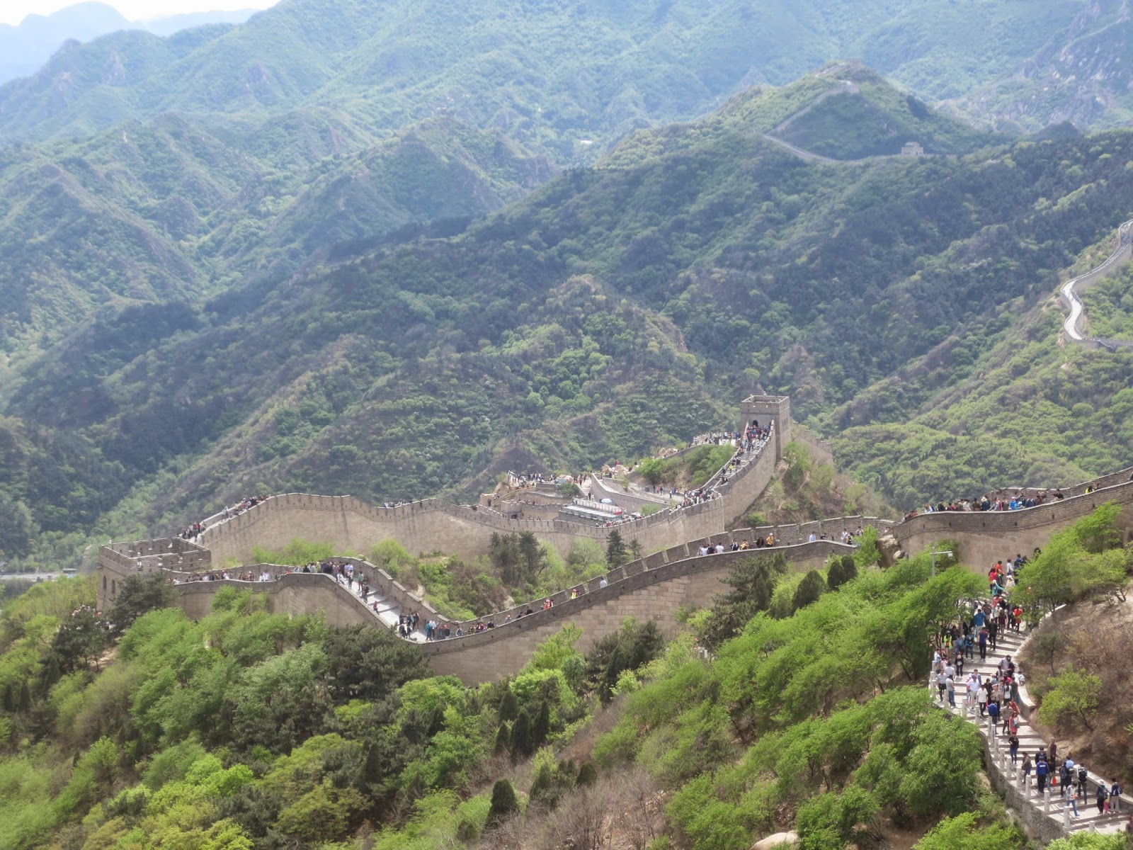 Badaling Great Wall View