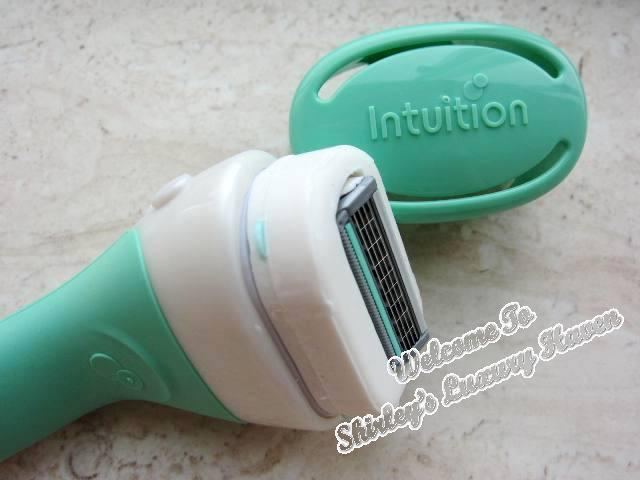 how to clean intuition razor