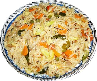 Vegetable Vermicelli Noodles