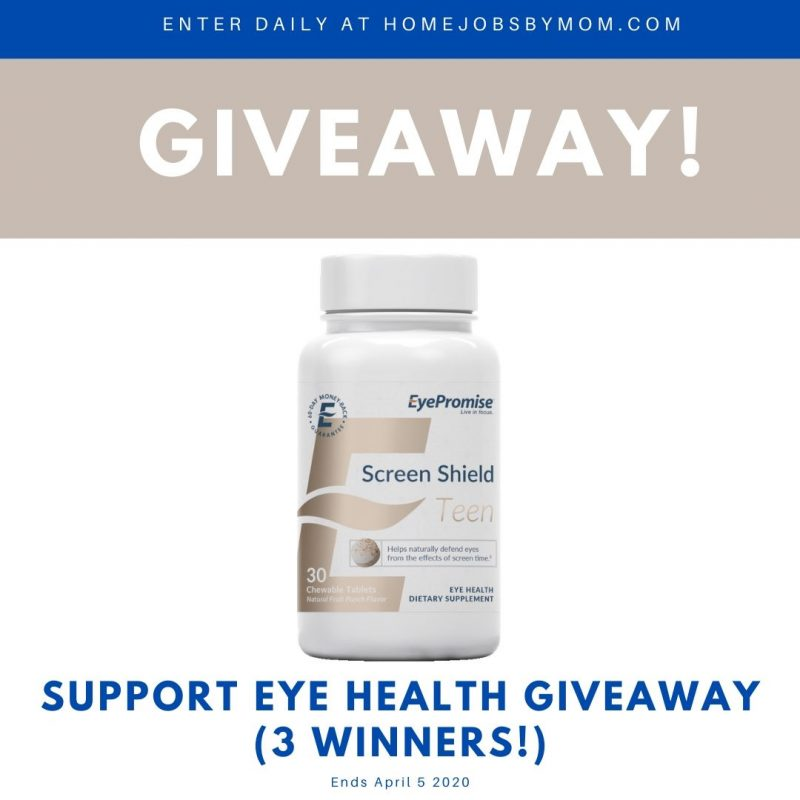 Support Eye Health Giveaway