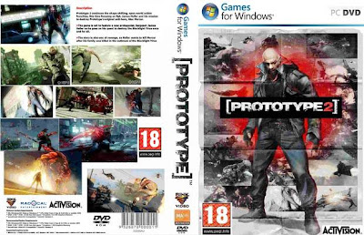 Prototype 2 PC DVD Capa
