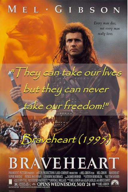 best movie quotes, braveheart