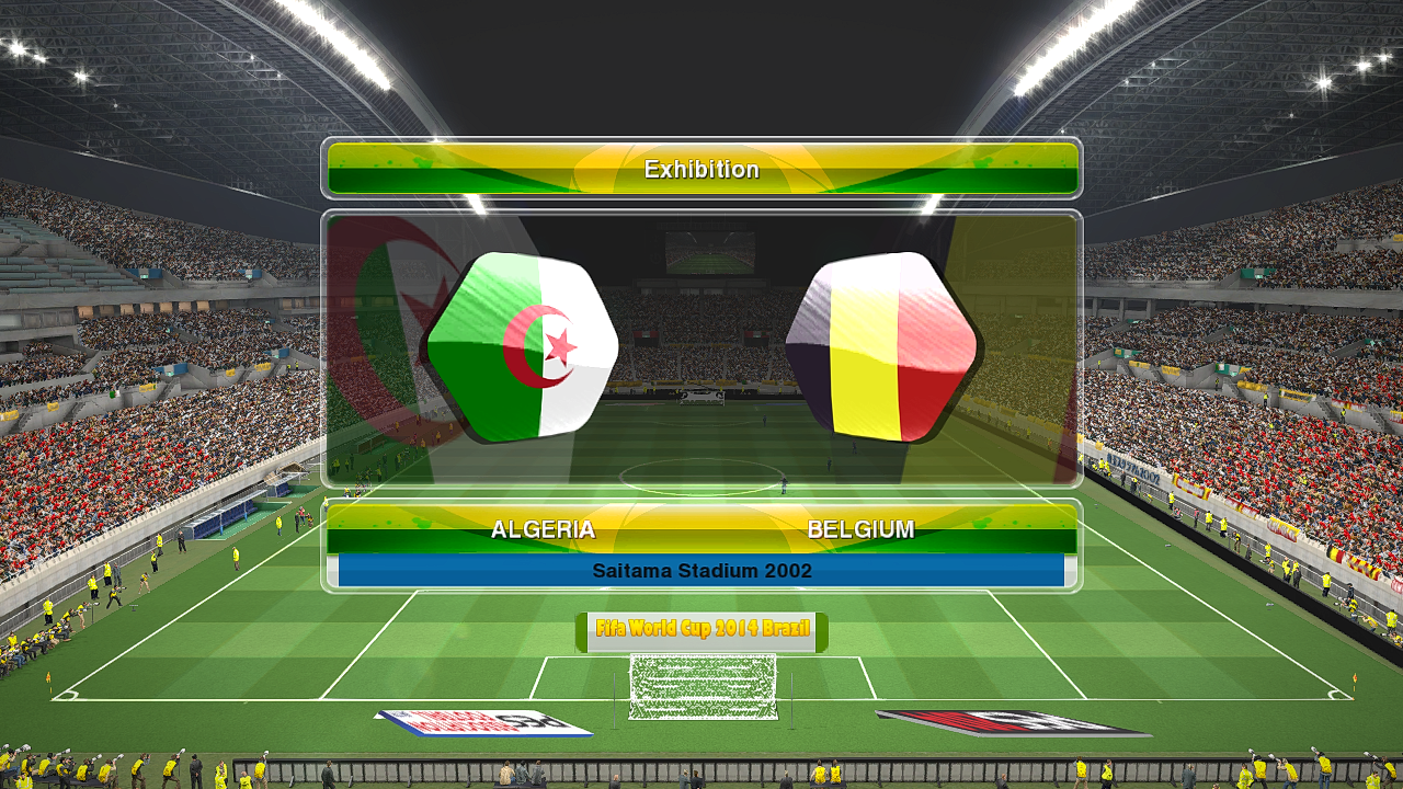 PES 2014 World Cup Scoreboard BETA by Firas Zinou