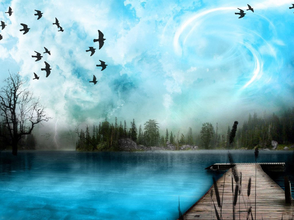Digital wallpaper D wallpapers fantasy art free computer desktops