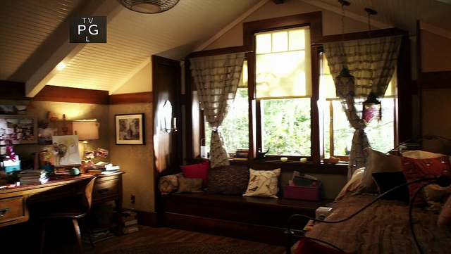 Aria s room  with its angled ceilings and exposed beams  gives off a secret  hideaway or tree house kind of feel that I adore  Well  a tree house decked  out. The Lovely Side  Aria s Room   Pretty Little Liars Decor