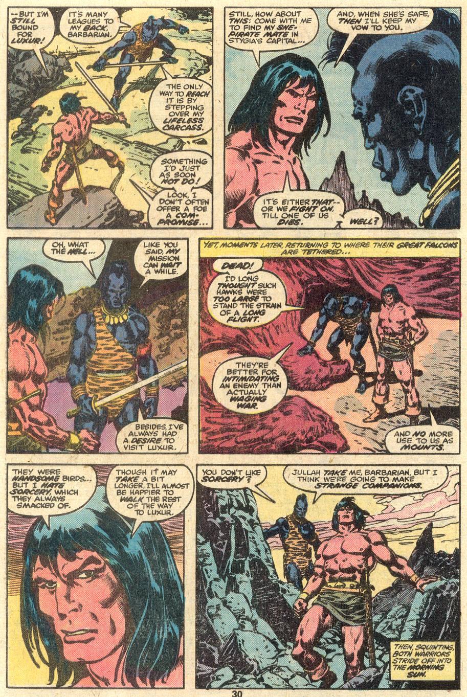 Conan the Barbarian (1970) Issue #85 #97 - English 17