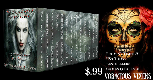 Voracious Vixens, 13 Novels of #Paranormal #Romance for only $.99! #ASMSG