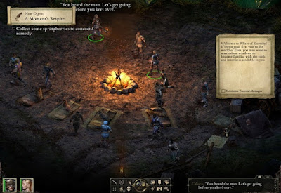 Pillars of Eternity Gameplay for PC