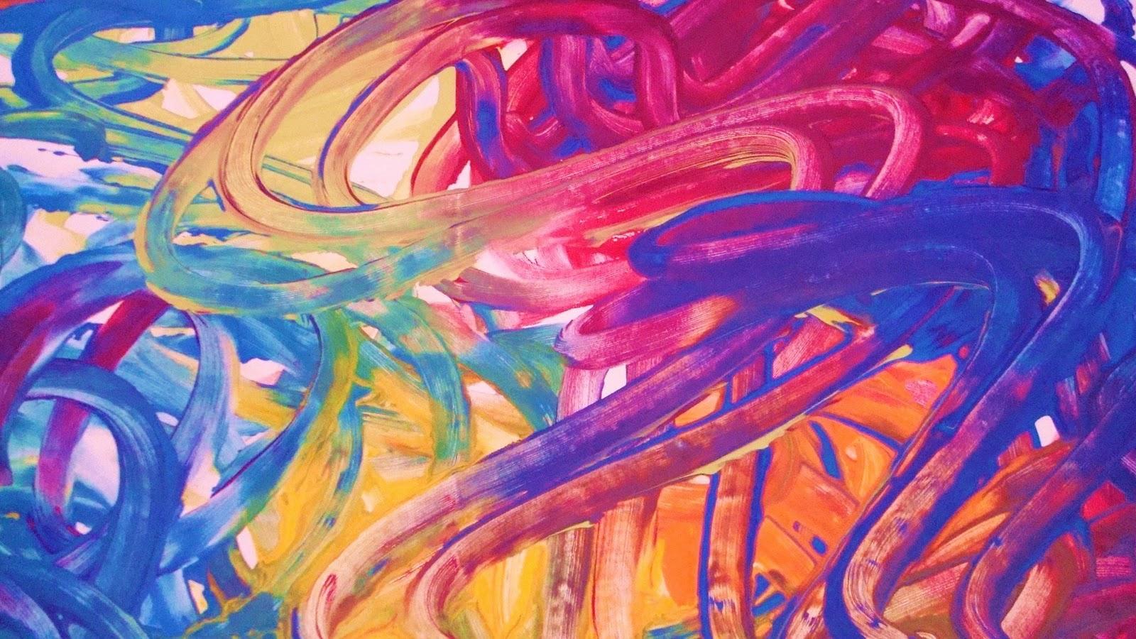 The Digit Al Dozen DOES Art Fingerpaint Design