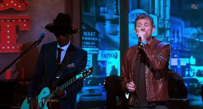 Damon Albarn en Jimmy Kimmel Live! desde el SXSW