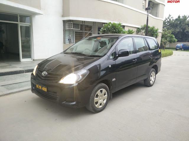 Black Toyota Innova Rent Delhi, MiCar, ZoomCar, Revv, Myles