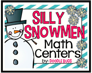 https://www.teacherspayteachers.com/Product/Silly-Snowmen-Math-Centers-facts-counting-clocks-number-words-more-2275455