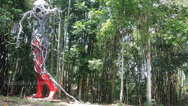 Patung di Omah Petruk Yogyakarta