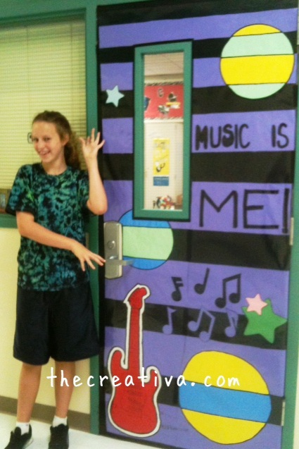 Music Classroom Door Decorations ~ The stylish studio school door decorations