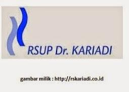 Lowongan Kerja RS Karyadi Semarang Desember 2014