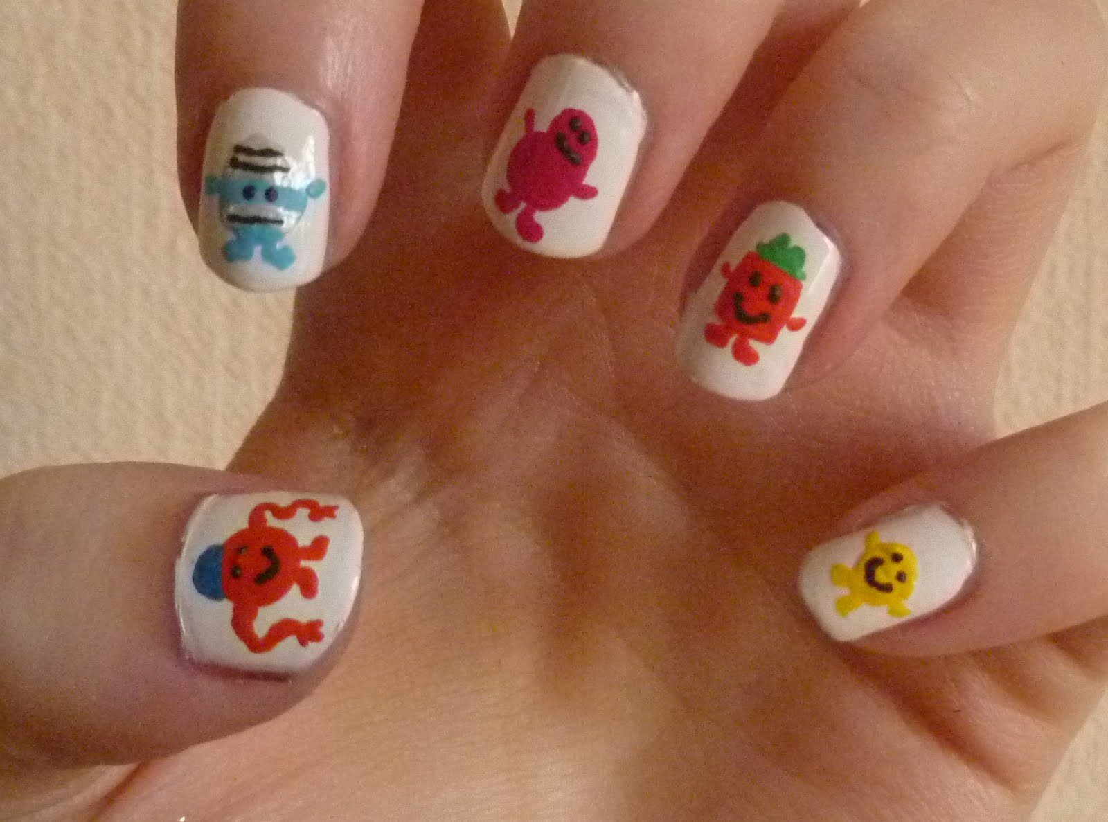 Mr Men Nails