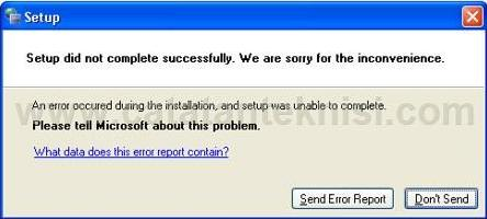 """Masalah Upgrade MS. Office """"Setup did not complete successfully"""""""