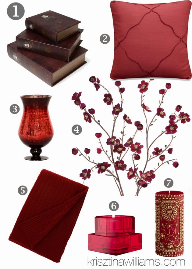 How To Decorate Your Home With Burgundy