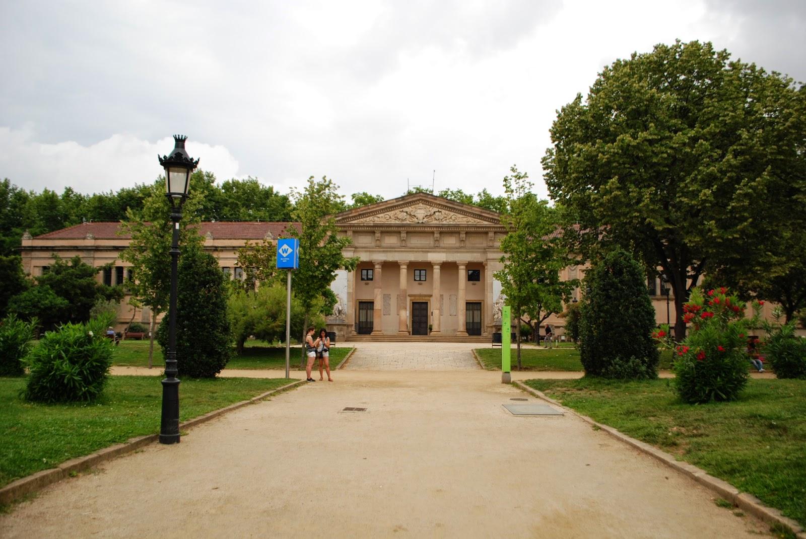 Музей геологии. Парк Цитадели (Сьютаделья, Ciutadella), Барселона, Каталония, Испания. Parc de la Ciutadella, Barcelona, Catalonia, Spain