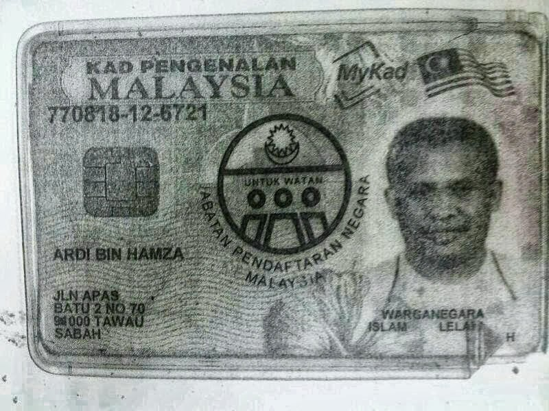 Misteri Dan Harga IC Palsu Di Malaysia: Suspek Kes Tembak Pegawai Ambank Beli IC Palsu Hanya RM200 - Terbakor