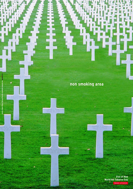Piensa si deseas esta zona para fumadores....
