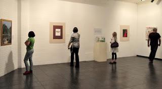 Montada na galeria, a mostra Arte Lida é outro ponto alto da Semana Literária