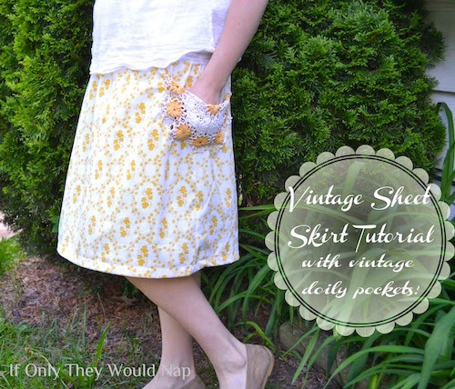 simple light skirt