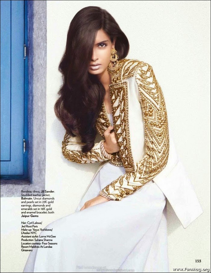 Diana Penty Vogue Magazine Photo