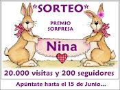 SORTEO EN EL BLOG DE NINA.
