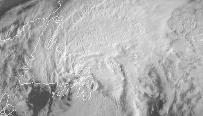 Tropischer Sturm OPHELIA über der Avalon-Halbinsel von Neufundland, Kanada, Neufundland, Ophelia, Kanada, Radar Doppler Radar, Satellitenbild Satellitenbilder, Oktober, 2011, Hurrikansaison 2011, aktuell, Verlauf, Vorhersage Forecast Prognose,