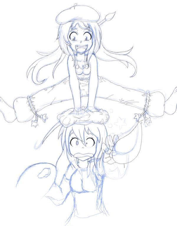 Comment dessiner des manga etape par etape - Dessiner un manga fille ...