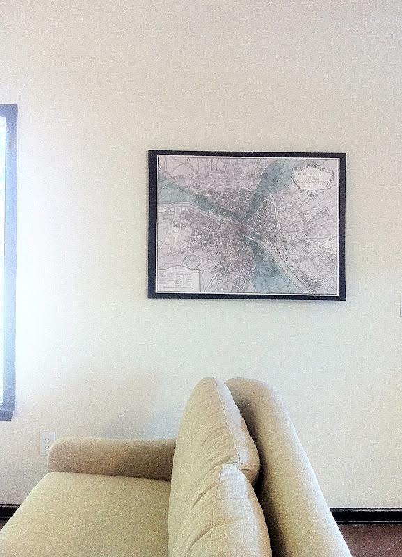 Ador: Decoupage Map Wall Art