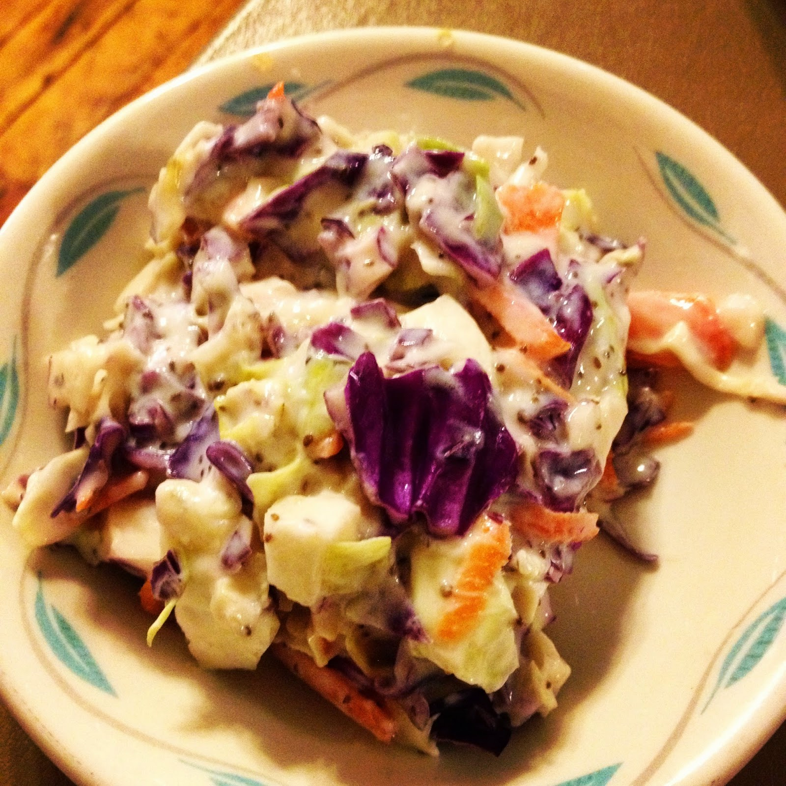 Heather's Bay City Vegan Vegetarian Coleslaw