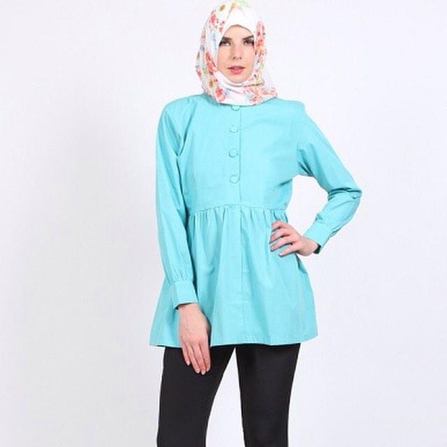 25 Model Baju Kerja Wanita Muslimah 2016