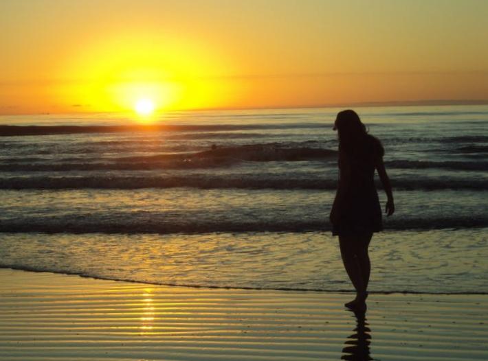 Resultado de imagem para amanhecer na praia