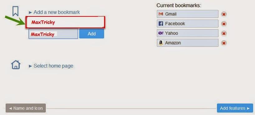 Adding Bookmarks