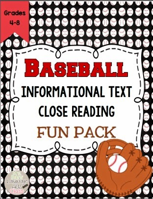 http://www.teacherspayteachers.com/Product/Baseball-Close-Reading-Informational-Text-Bundle-for-Middle-School-1118784