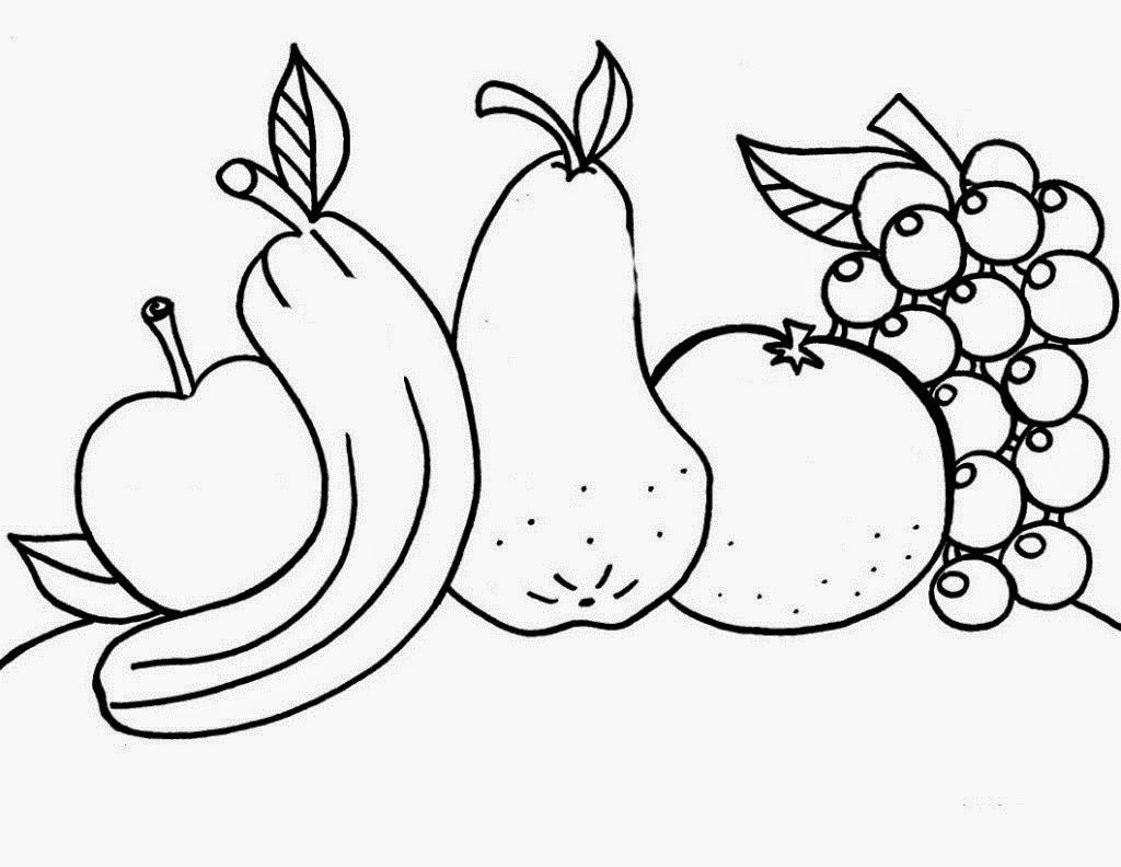 Media Pembelajaran Mewarnai Tema Tanaman Subtema Buah buahan