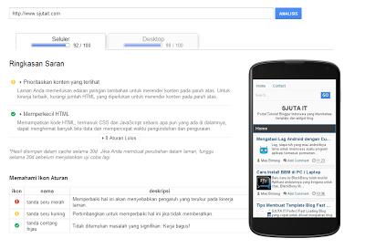 Template Blogger 100% SEO , Responsive, Fast Loading dan Valid HTML5