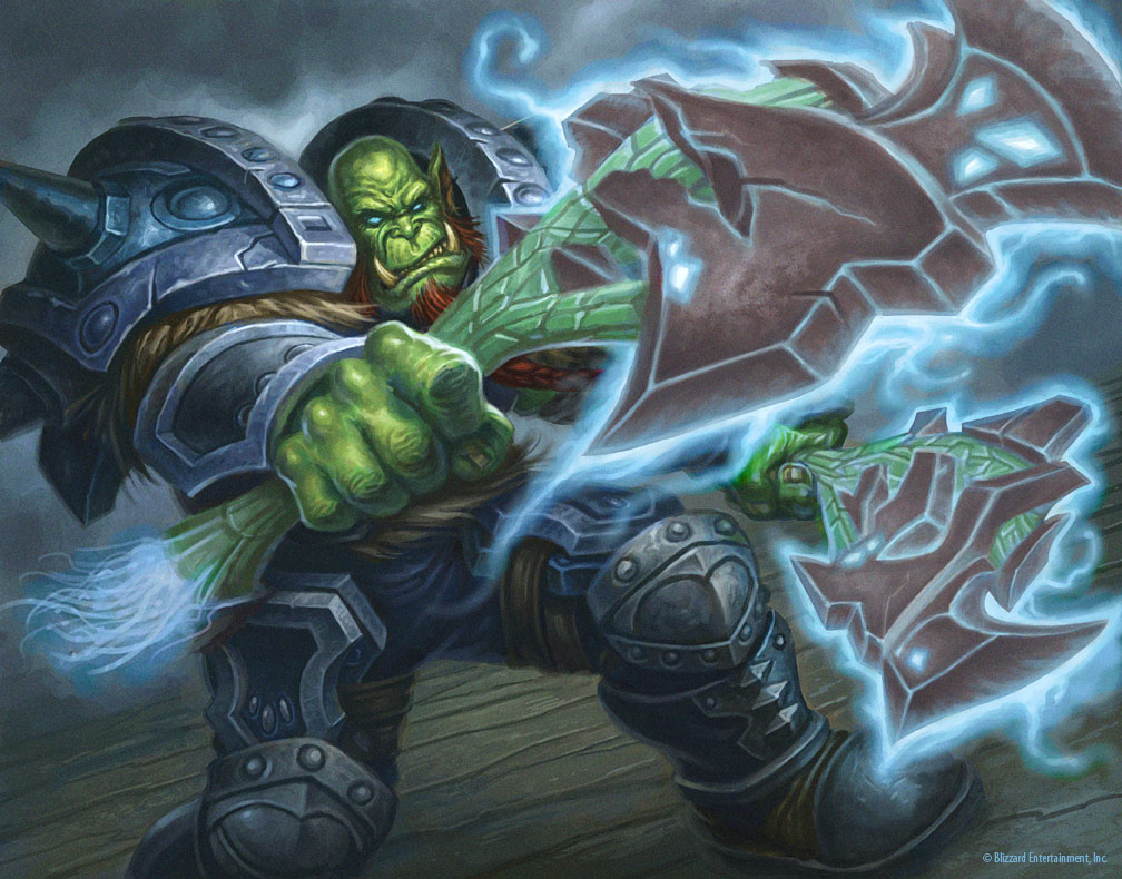 Orc death knight