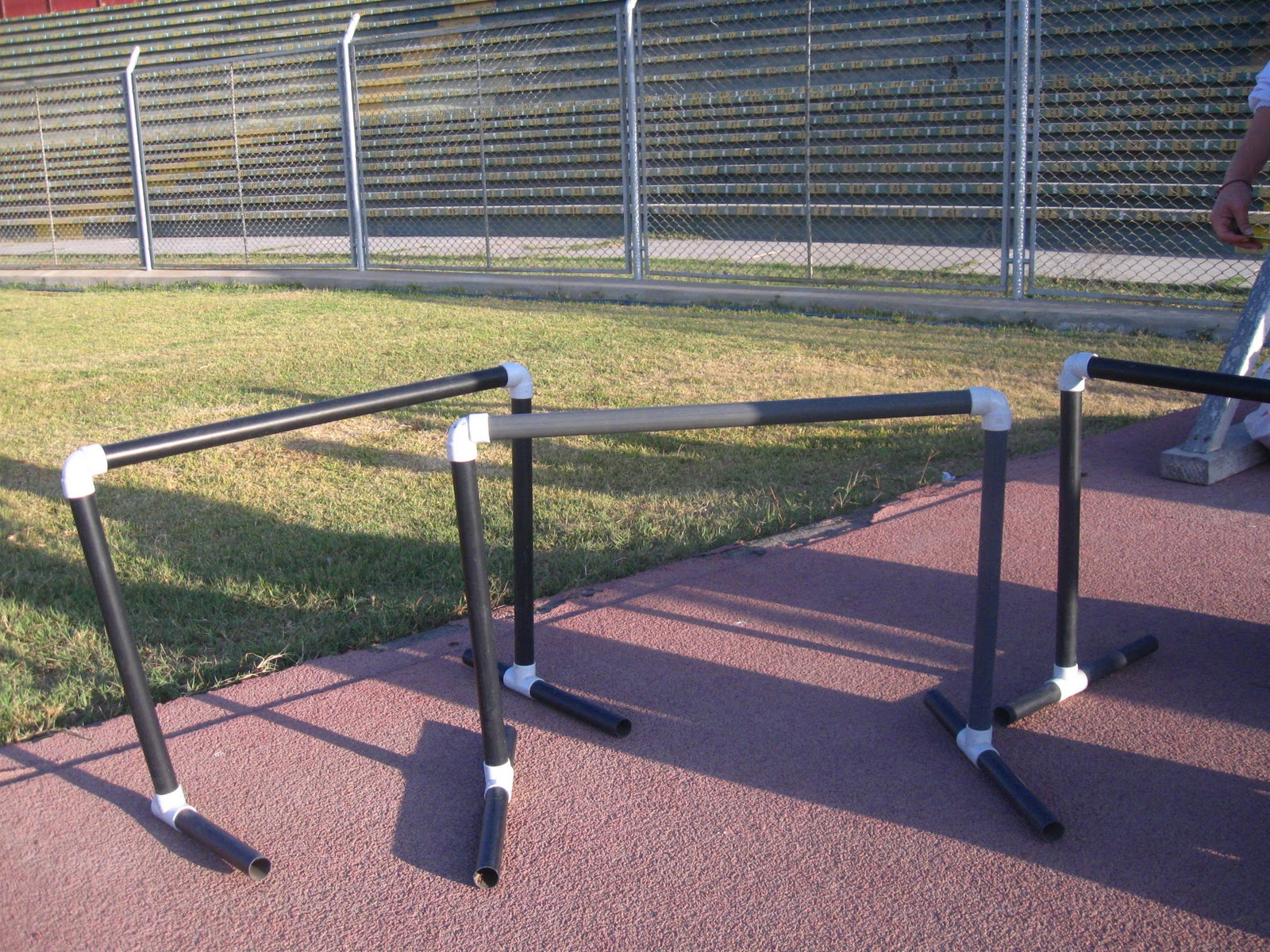 Construcci n de materiales deportivos con productos - Medidas tubos pvc ...