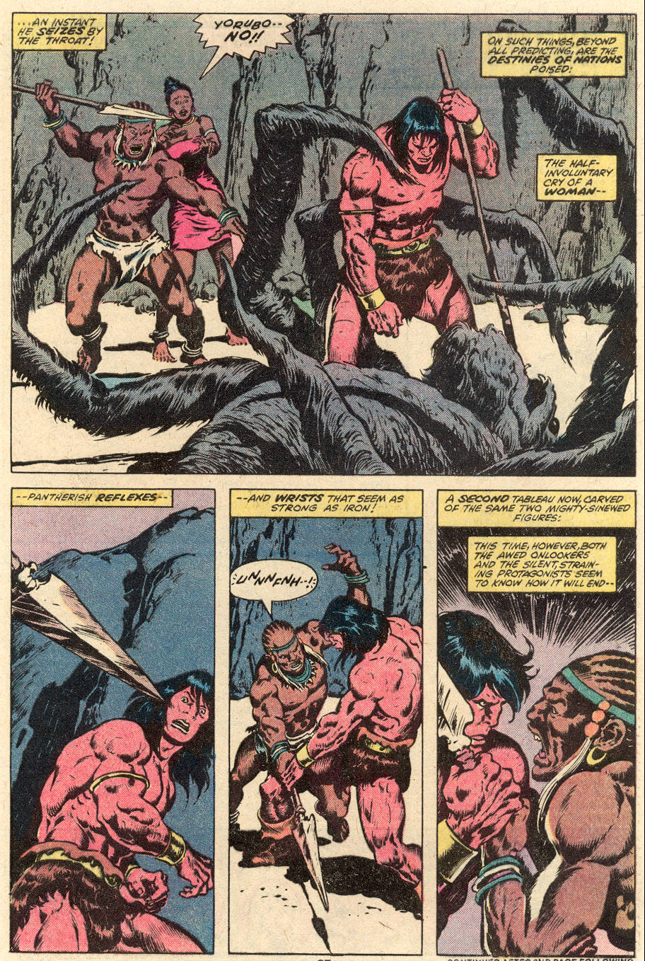 Conan the Barbarian (1970) Issue #101 #113 - English 16