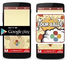 Android Game of the Week - Four Balls