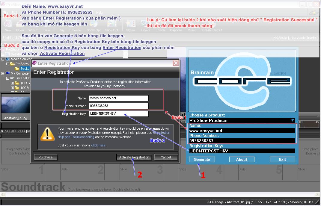 proshow producer 4 registration key