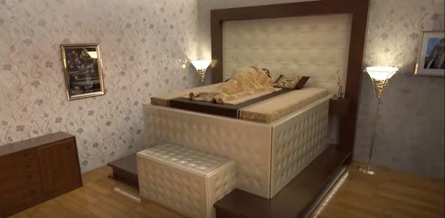 Inventan una cama antiterremotos ante casos de emergencia.