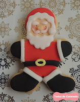 Galleta Papa Noel