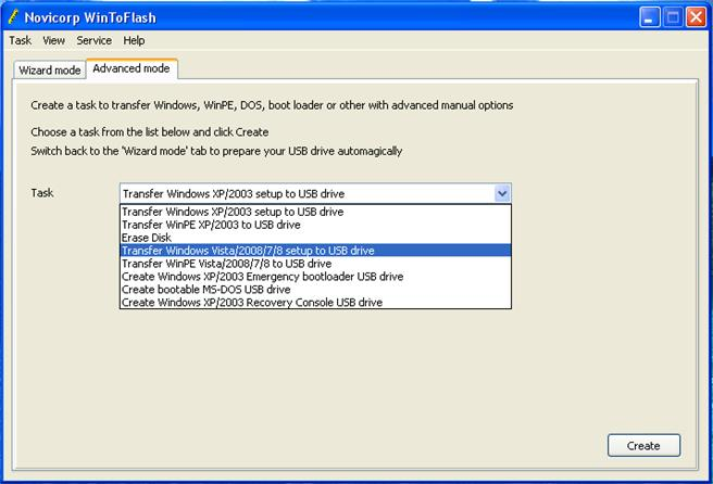 cara install windows 7 melalui flashdisk Pilihan transfer windows
