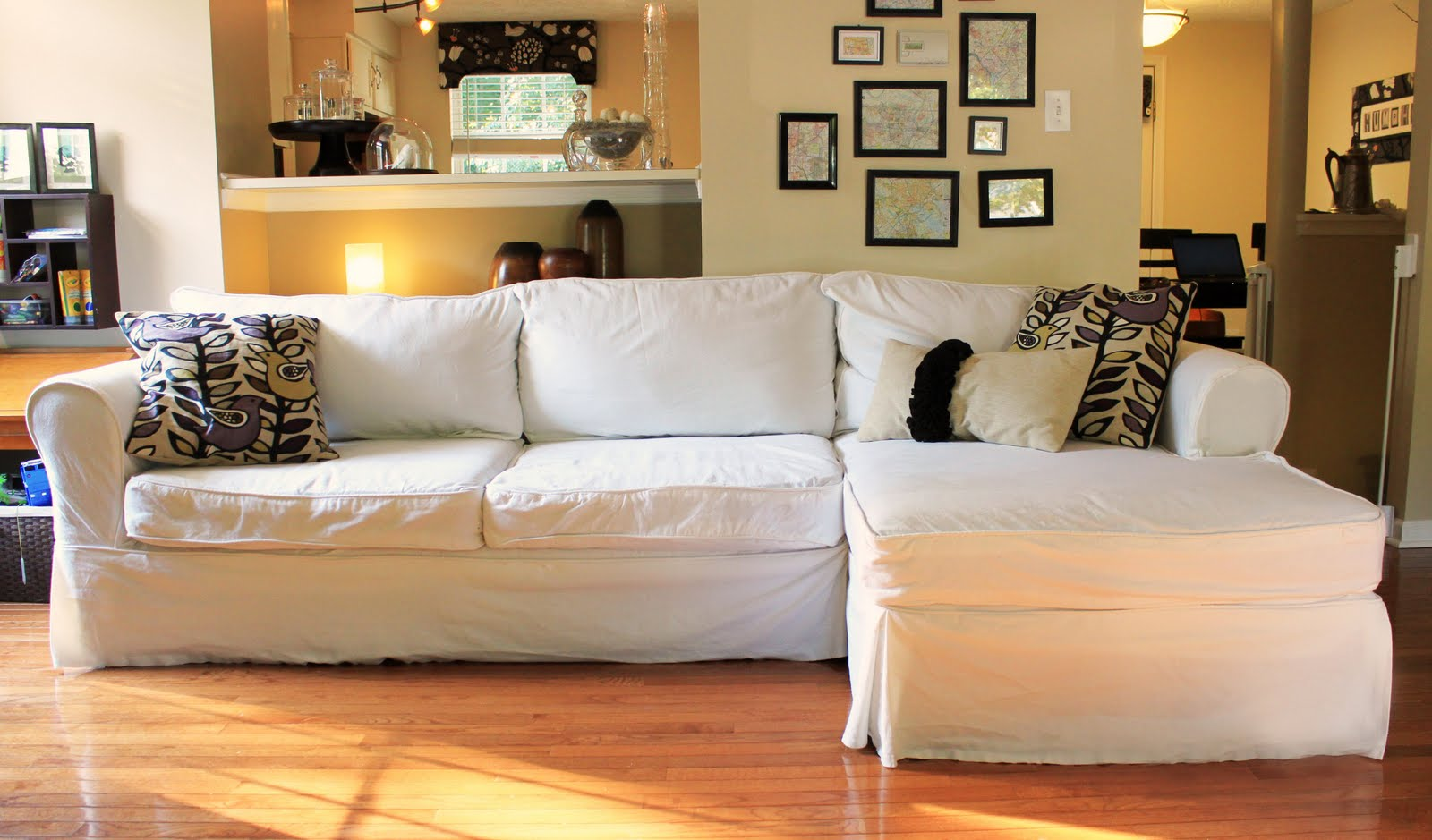 Nasty Sofa? Slipcover It!